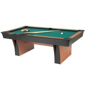 Garlando Alexandra biliardo pool campo  gioco cm. 224x112, 8 piedi, con piano in MDF.    23106MDF