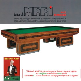 Biliardo Mari mod 24 Mondial biliardo come nuovo 5-9 birilli  23077
