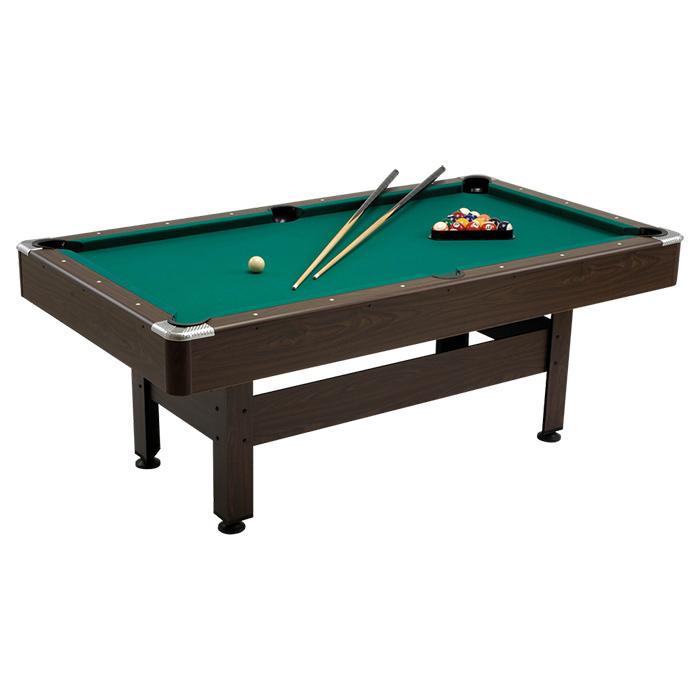 Garlando virginia 7 piedi tavolo biliardo pool con for 700 piedi quadrati a casa