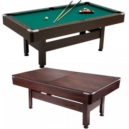 Garlando Virginia 6 piedi tavolo biliardo con buche specialità pool con copertura in legno e accessori.    23089T