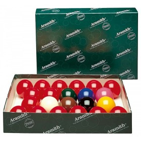 Set completo bilie snooker Super aramith diametro 52,4 mm   -04011.
