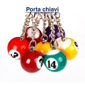 15 portachiavi pool  -22033