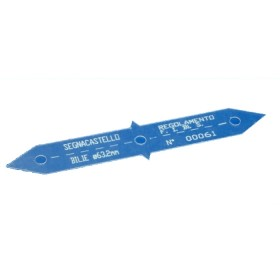 Segnacastello omologato FIBISper biliardi con bilie 63.2 mm.02093
