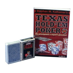 """Manuale per Texas Hold'em """"da principianti a esperti giocatori"""", con coppia mazzi di carte 17133"""
