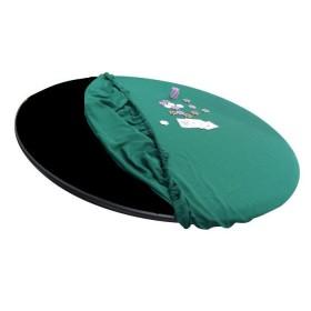 Copritavolo rotondo verde diametro 150 cm. 20013