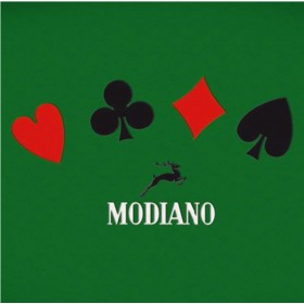 Tappeto in viscosa da poker Modiano, modello Texas Hold'em. 20143
