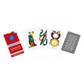 2 Mazzi di carte Masenghini Napoletane poliplastiche. 17051