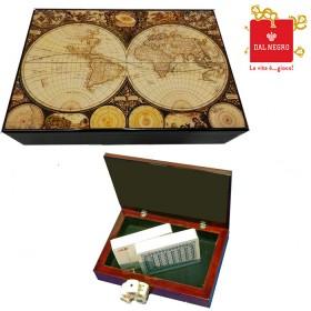Cofanetto portacarte Dal Negro in legno con stampa a tema. 16193_2