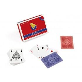 Confezione Carte Dal Negro mod. San Siro plasticate.   17008