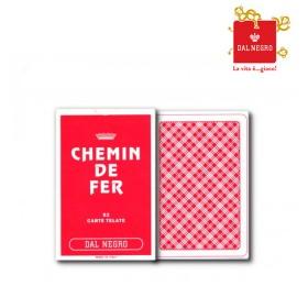 2 Mazzi di carte Dal Negro mod. Chemin De Fer plasticate  17071