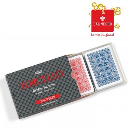 Carte francesi Dal NegroTorcello 100% PVCramino,bridge ecc.17028