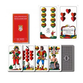 2 Mazzi di carte Dal Negro Salzburger Spielkarten. 17153