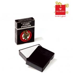 2 Mazzi carte NTP poker 100% PVC dorso bianco. 17211