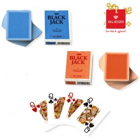 2  Mazzi di carte Dal Negro da Black Jack e Texas Hold'em plasticate. 170602