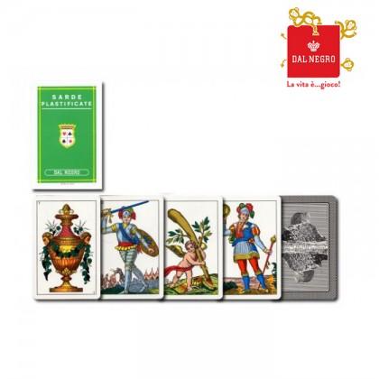 2 mazzi di carte Dal Negro Sarde. 17144