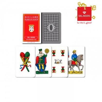 2 mazzi di carte Dal Negro Siciliane      17140