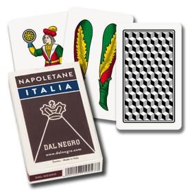 2 mazzi Carte da gioco regionali Dal Negro napoletane Italia