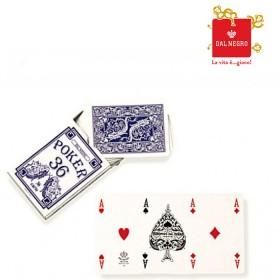 2 Mazzi di carte Dal Negro mod. Poker 36 telate. 17007