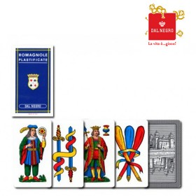 2 mazzi di carte Dal Negro Romagnole  17142