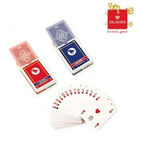 2 Mazzi di carte Dal Negro mod. Poker San Siro plasticate.17070