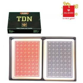 Carte francesi Dal Negro TDN 100% PVC   17037