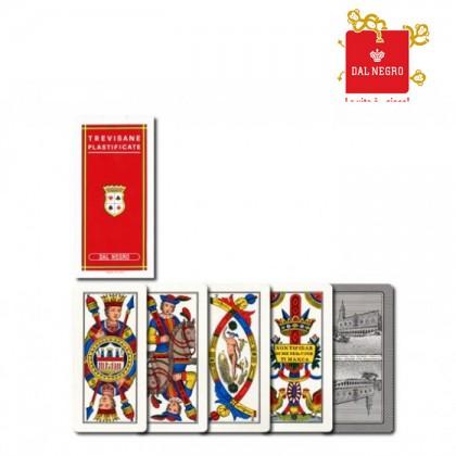 2 mazzi di carte Dal Negro Trevisane. 17149