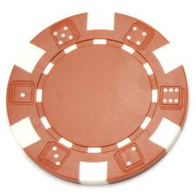 Fiches professionali American Clay di colore marrone (senza valore nominale)  15096M