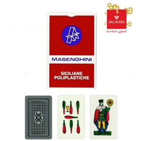 2 mazzi di carte Siciliane Masenghini. 17140