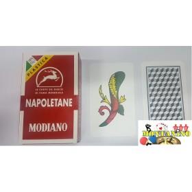 2 Mazzi di carte Modiano Napoletane plasticate. 17010