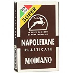 2 mazzi di Carte da gioco Modiano Napoletane Marroni Super. 17238
