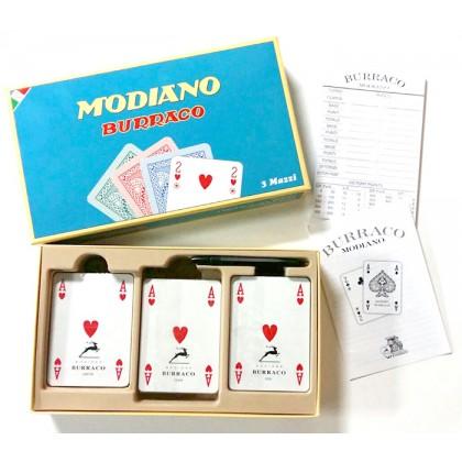 Modiano Burraco completo 3 mazzi 162 carte. 17233