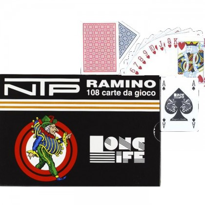 Carte francesi NTP 100 % PVC.  17127