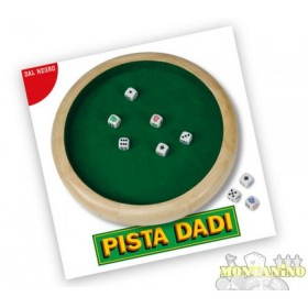 Pista dadi Dal Negro classica pista per dadi. -21091