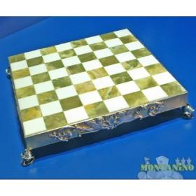 Preziosa base per scacchi mod. Impero Romano  -18445