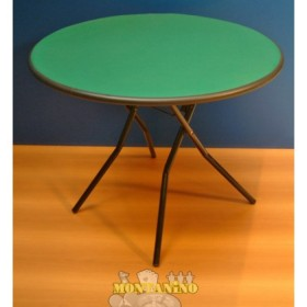 Tavolino pieghevole rotondo - 14031
