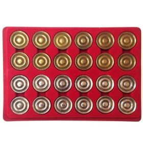 Serie dipedine in metallo. 18094