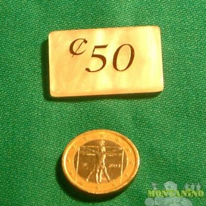 Fiches Mg da 0.50 euro-cent   15005