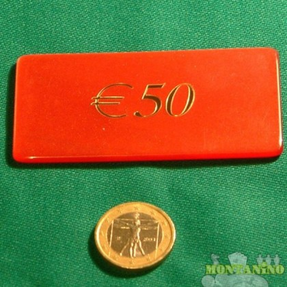 Fiches Mg da 50 euro.  -  15007