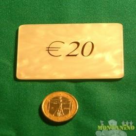 Fiches Mg da 20 euro -   15043A