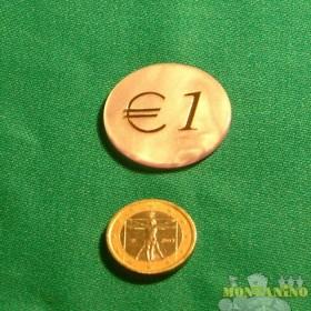 Fiches Mg da1 euro  -  15047