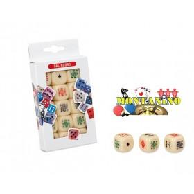 Confezione Dadi Poker mm22 Dal Negro 20126C