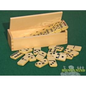 Domino Dal Negro da 28 tessere con astuccio in legno. 21162