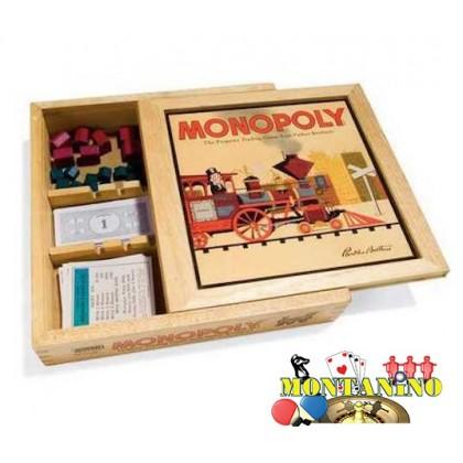 MONOPOLY in legno DAL NEGRO Hasbro CLASSICO 21279