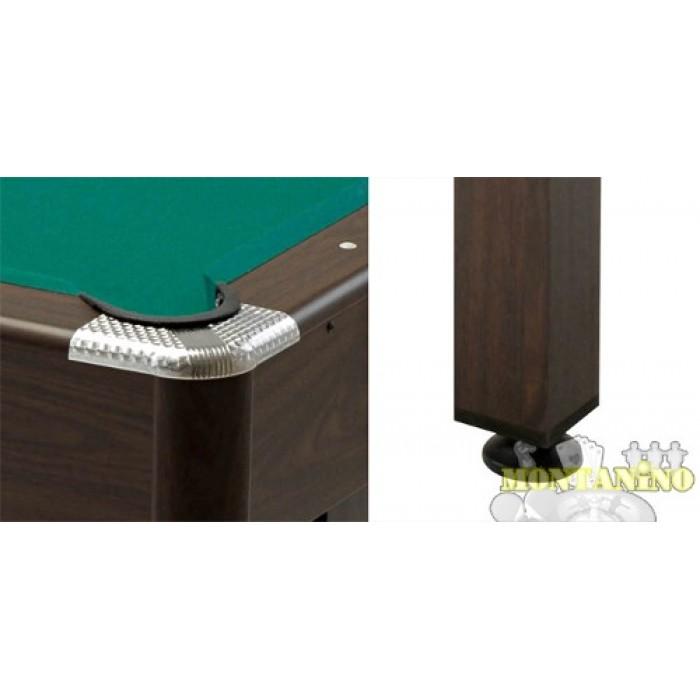 Garlando virginia 7 piedi tavolo biliardo pool con accessori for 700 piedi quadrati a casa