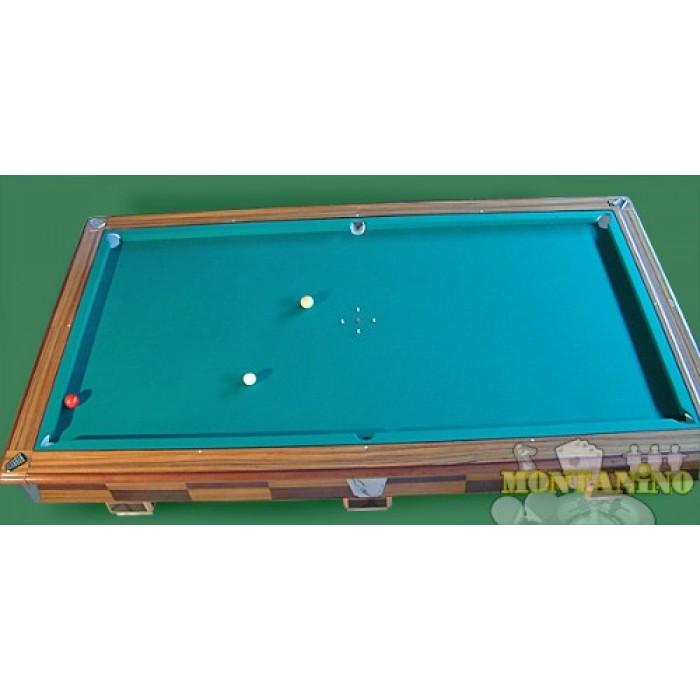 Tavolo da biliardo professionale tavoli da gioco set accessori legno ciliegio eur 399 99 - Tavolo da biliardo mari ...