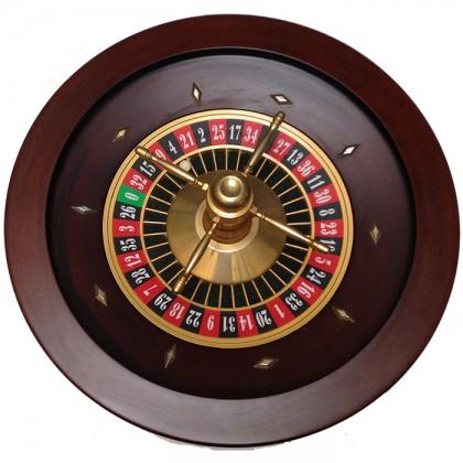 Roulette professionale in legno di mogano Q 60 cm.   -19015