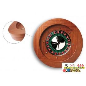 Roulette Dal Negro mod. Montecarlo in mogano massello. 19002