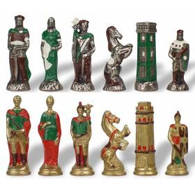 Scacchi artistici metallo I romani e le invasioni barbariche 18131