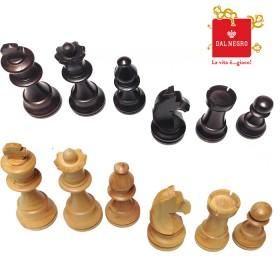 Dal Negro set scacchi Staunton legno Bosso Re h. 9,5. 18450