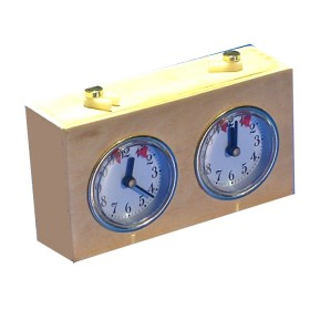 Orologio per scacchi in legno. 21180